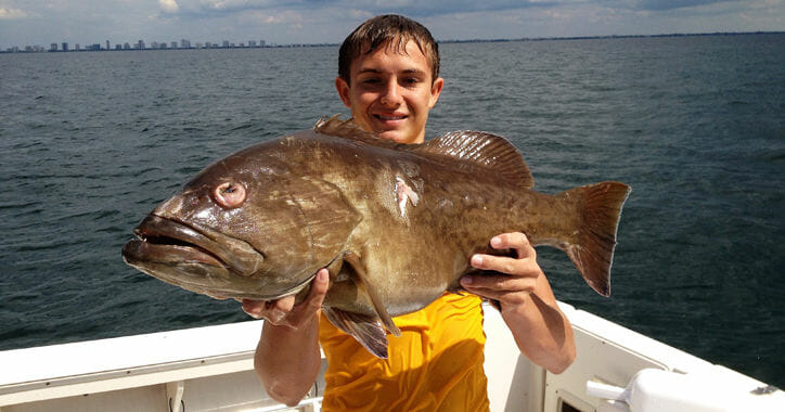 South Florida Grouper Fishing Guides