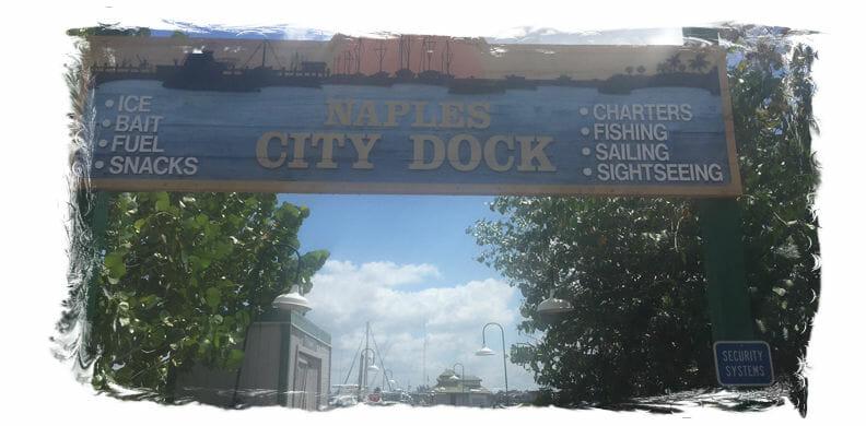 Naples City Dock Naples Florida